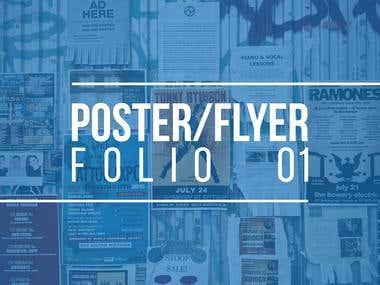 Poster-Flyer Folio