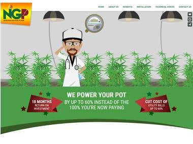 Power Your Pot http://www.poweryourpot.com