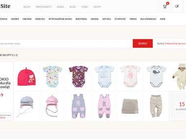 Shopping site zitzap.eu