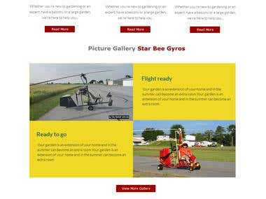 SEO Friendly PSD DesignFor StarBee-Light