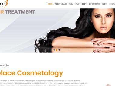 Website Design Work