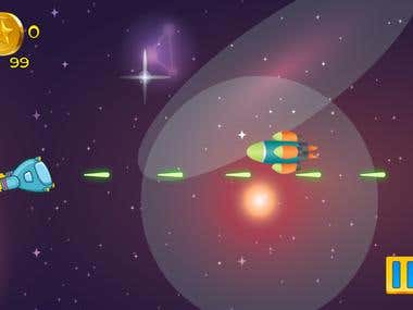 Amazing Space Shooter: Super Fun Flying and Shooting Game