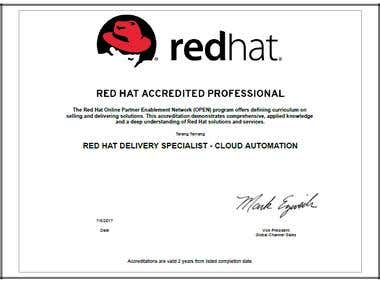 Red Hat Accredited Professional