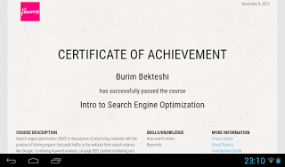 Intro to Search Engine Optimization