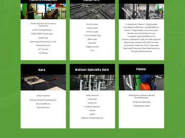 Website for Squad GYM Australia