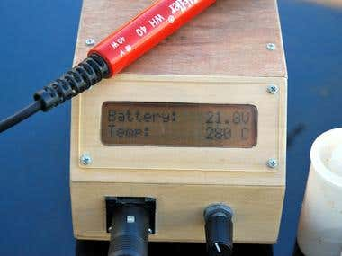 DIY Battery-powered 30W Soldering Station