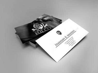 logo + business card and tag design
