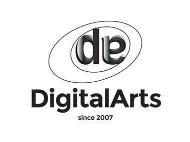 Digital arts new logo (2018)