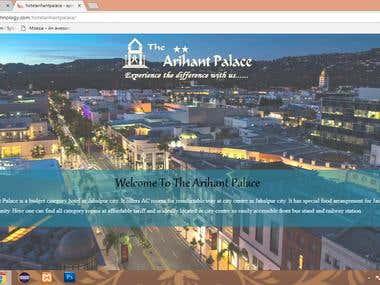 www.apnatechnology.com/hotelarihantpalace