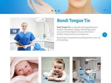 Bondi Tongue Tie