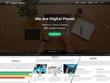 Responsive Static Website