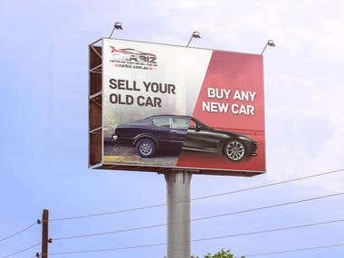 Billboard design for carbiz.....