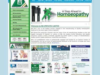 Portal of Pharmaceutical Company