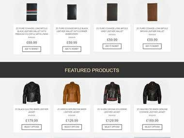 Brand Store - eCommerce Website