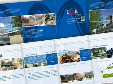 Brochure - New logo TMK - B&B Studio