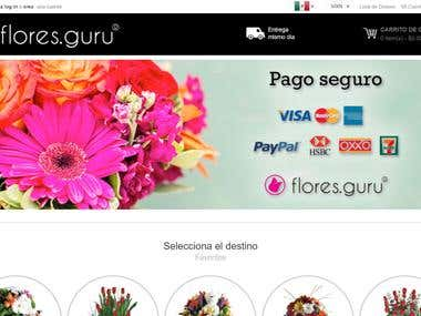 Magento ecommerce Shop https://www.flores.guru/