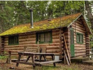 E-book on Log Cabins
