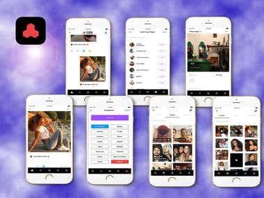 React Native Social App (CLQSIX)