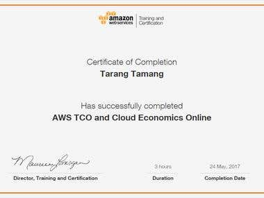 AWS TCO & Cloud Economics