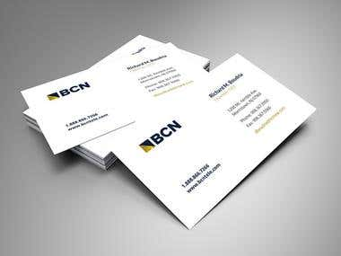 Business card and Brochure