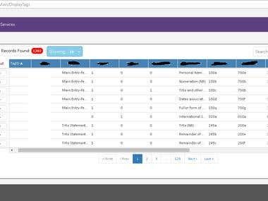 Web based application using MVC   AngularJS   JQuery etc.