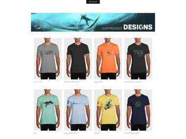 Silverback Athletic eCommerce store