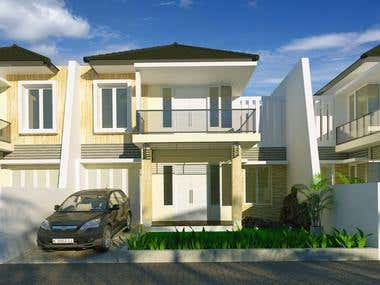 Exterior rendering services