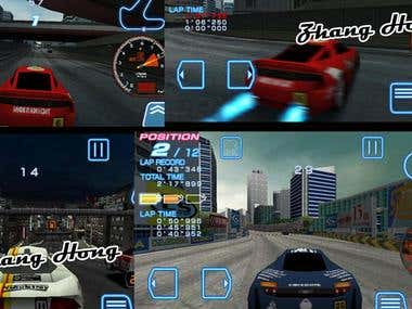 3D Car Racing game.