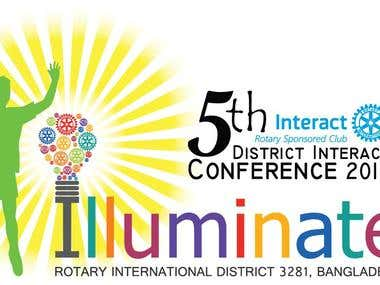 Intaract District Conference Logo