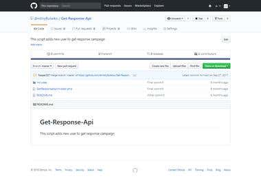 Get Response Api intergration