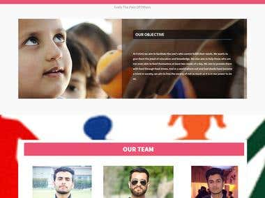 Ehsas Foudation ( A Site for social working)