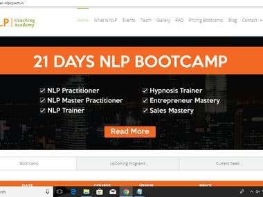 NLP Coaching Website