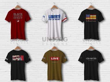 Modern T-shirt Designs