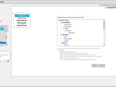 Windows based utility software developed in C#.