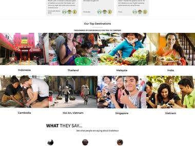 Advertising Site - https://www.grabatour.net