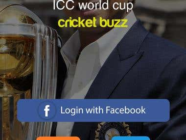 Cricbuzz Application
