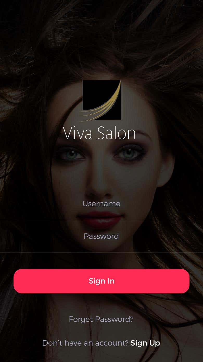 Viva Salon Booking App Freelancer Eyelash Portfolio