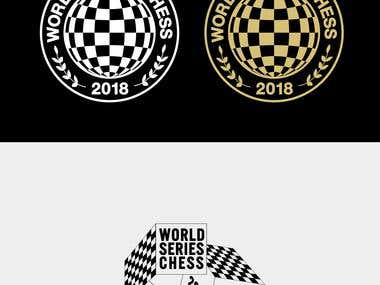 WORLD CHESS 2018 LOGO