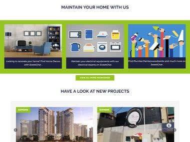 sweetghar.com ( Real Estate Property Website)