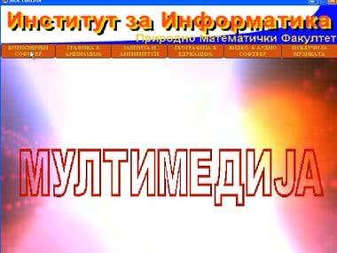 Multimedia Desktop Application