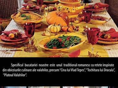 Presentation of iDracula, romanian traditional restaurant