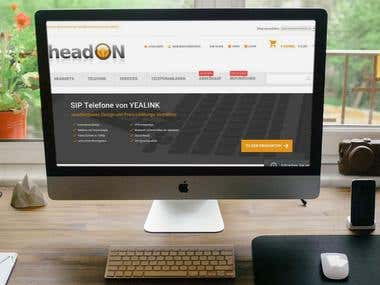https://partnershop.headon.at/ - Magento webstore
