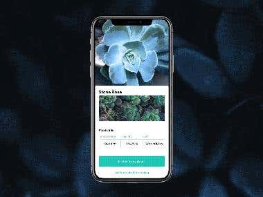 Watering Tracker iOS App