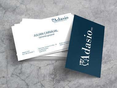 Business card / Tarjeta de presentación