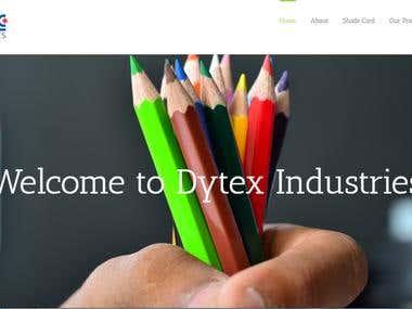 Dytexgroup - Web Design