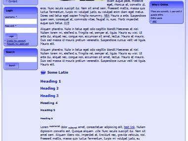 Drupal 7 RadinTechnology Theme