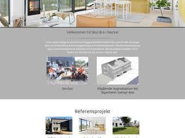 www.boobra.se website creation