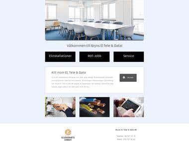 www.brynsel.se website creation