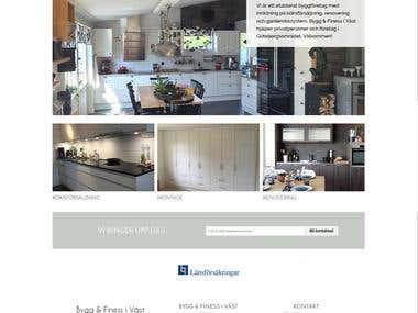 www.byggfiness.se website creation
