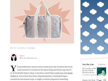 25 super cute weekender bags to shop before you book your ne